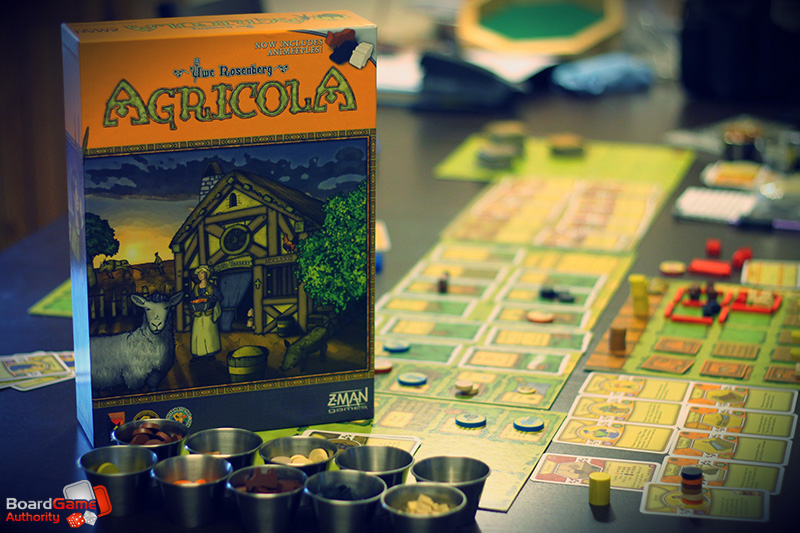 Agricola Box & Components