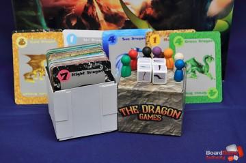 dragon games components