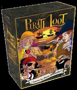pirate loot game box