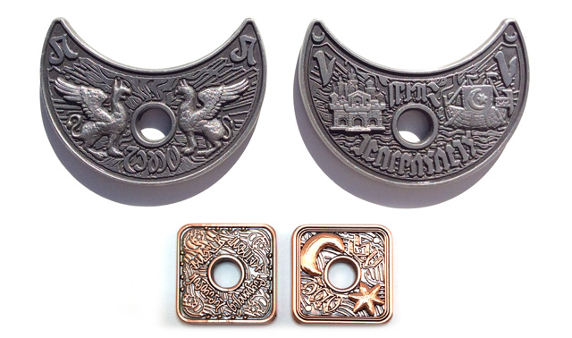 metal coins waterdeep