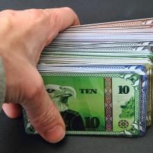 the treasury board game money