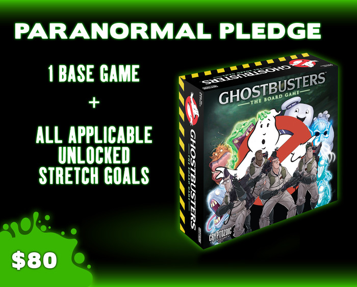 Ghostbusters Paranormal (Base) Pledge