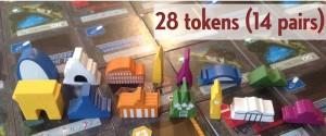 between two cities tokens