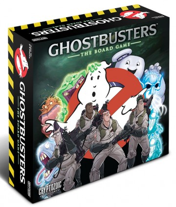 ghostbusters board game box