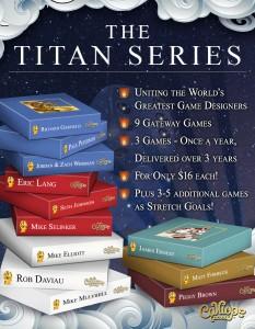 Titans Series Kickstarter