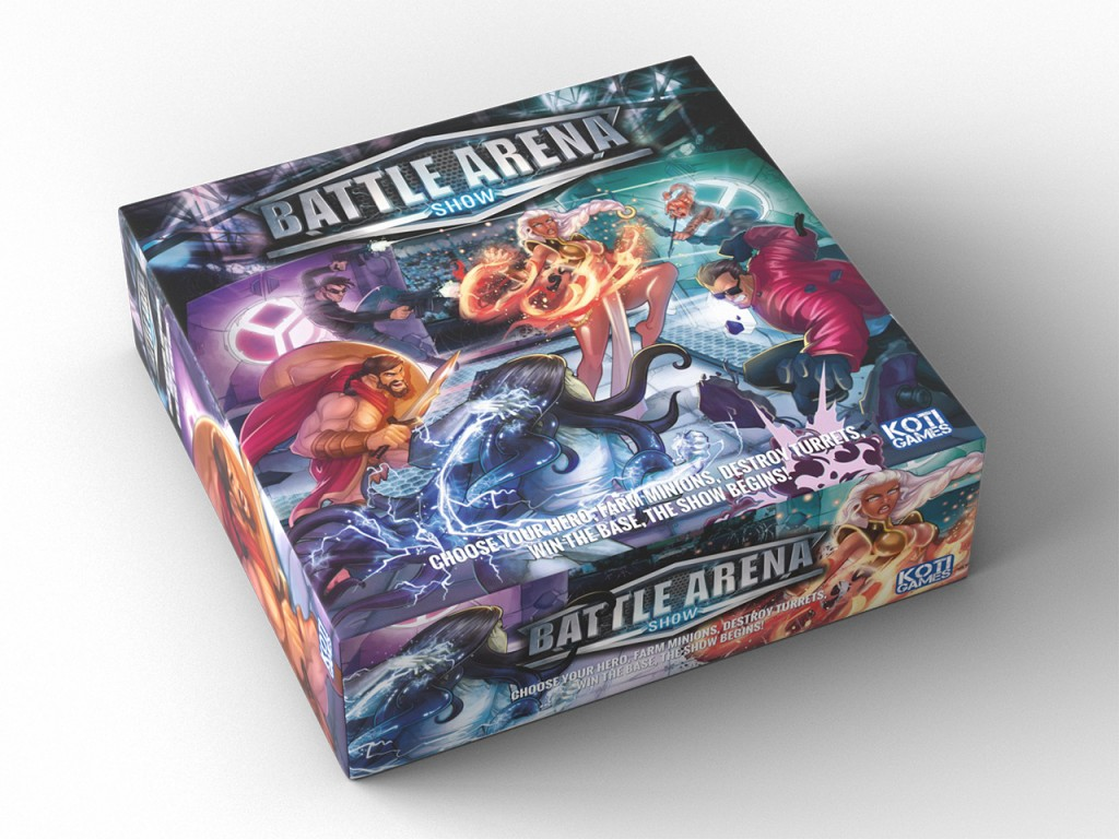 New Box Games : Koti games presents its strategic board game battle arena