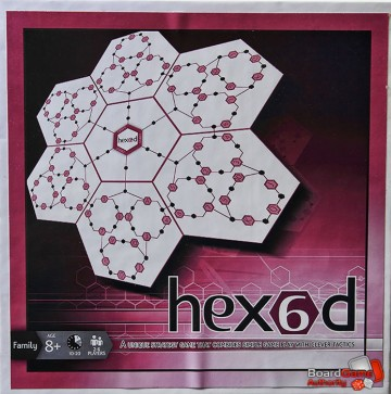 hex6d board game box