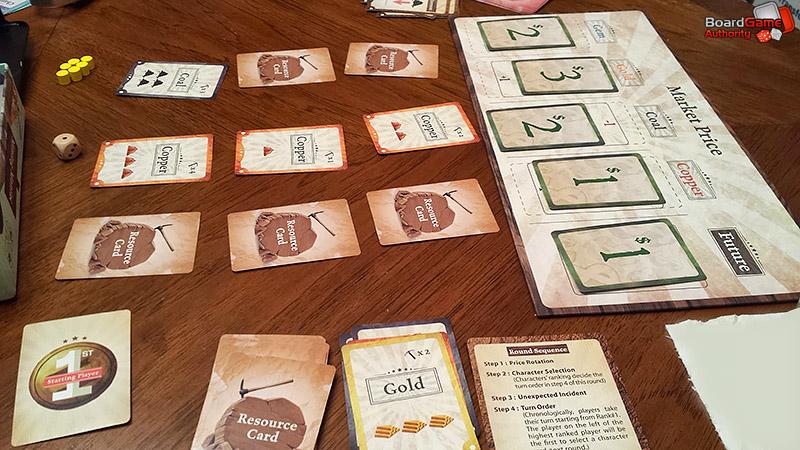 mining maniac board game