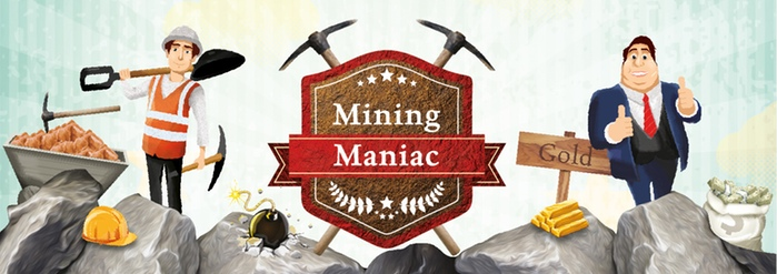 mining maniac kickstarter