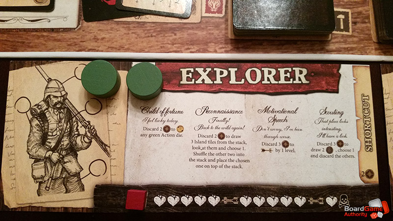 robinson crusoe game player board