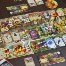 alchemists game board