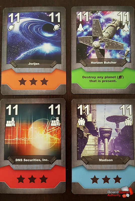 conquest of orion card game