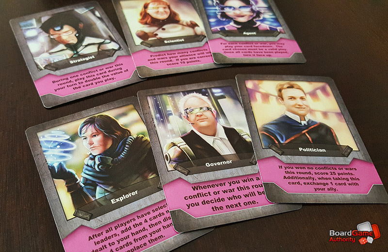 conquest of orion leader cards