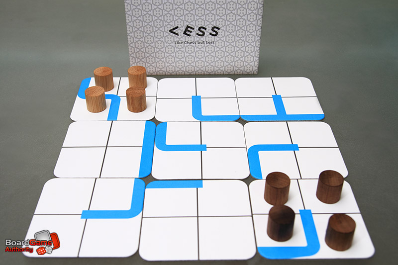 less strategy board game