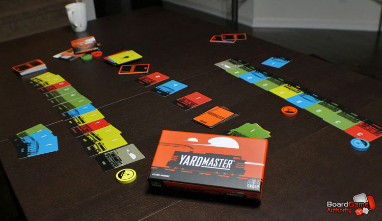 yardmaster card game
