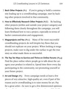 crowdfunding strategy guide 125 lessons