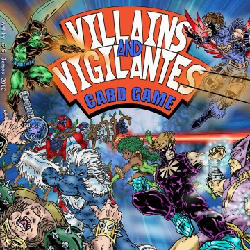 Villians Vigilantes Box Cover