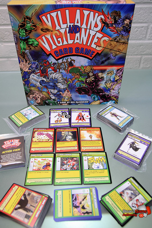 villains vigilantes board game