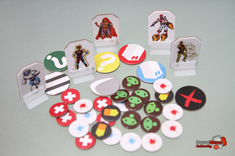 villains vigilantes tokens counters