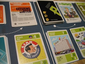 SuperPACS kickstarter card game