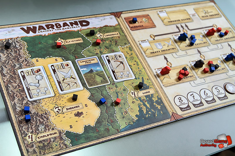 warband against darkness board game