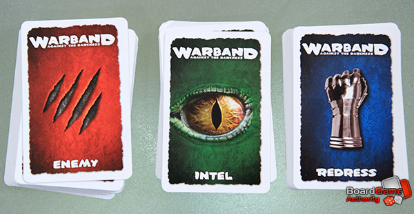 warband against darkness cards