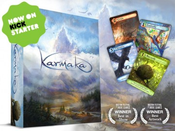 Karmaka kickstarter card game