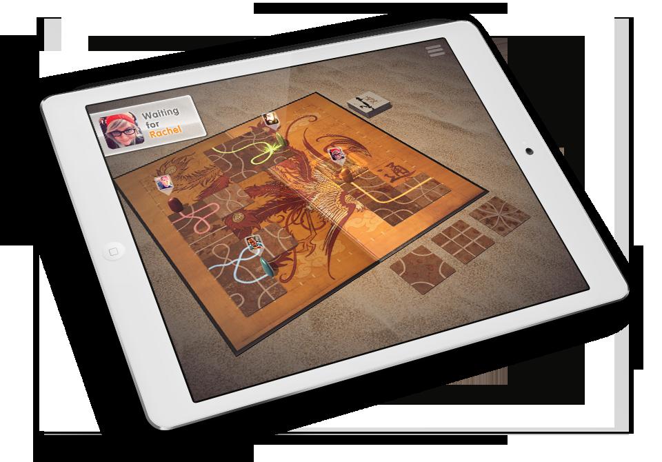 Tsuro 05 - iPad Air - Online