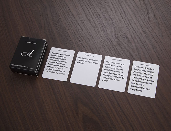 common decency cards