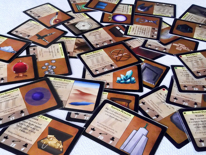 Ancient Sands Treasure cards