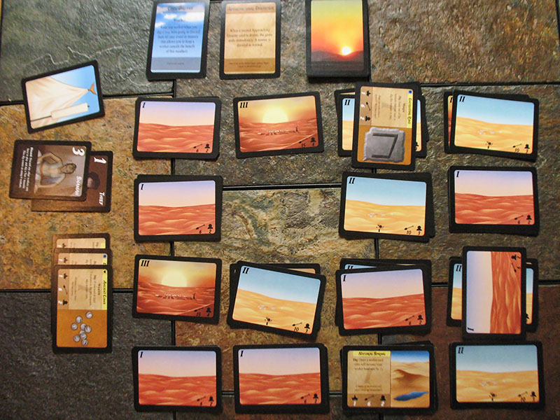 Ancient Sands card game