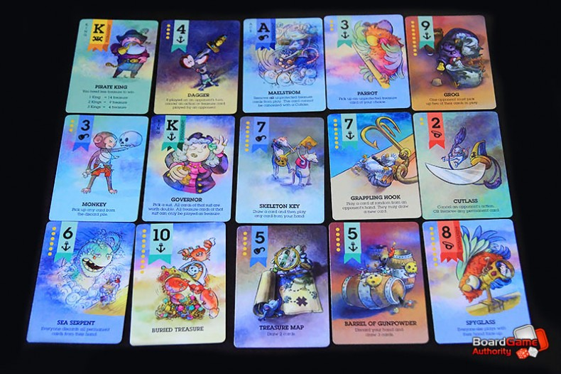 Scuttle game cards