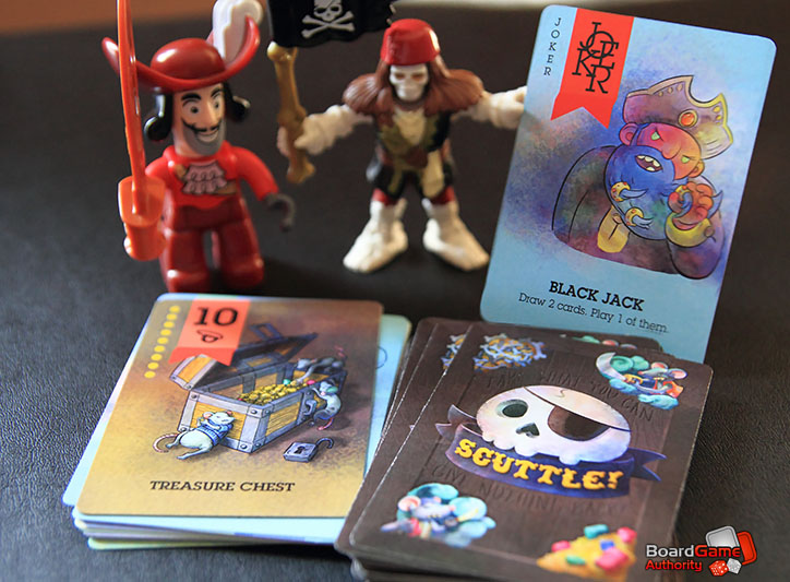scuttle pirate themed card game