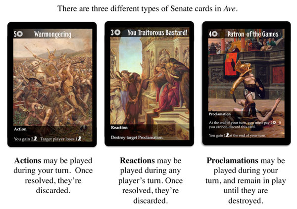 ave card types