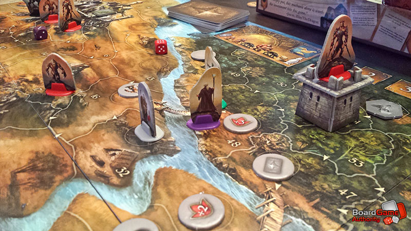 legends andor board game