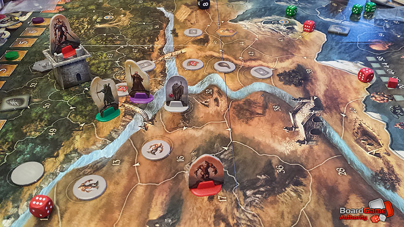 legends of andor board game