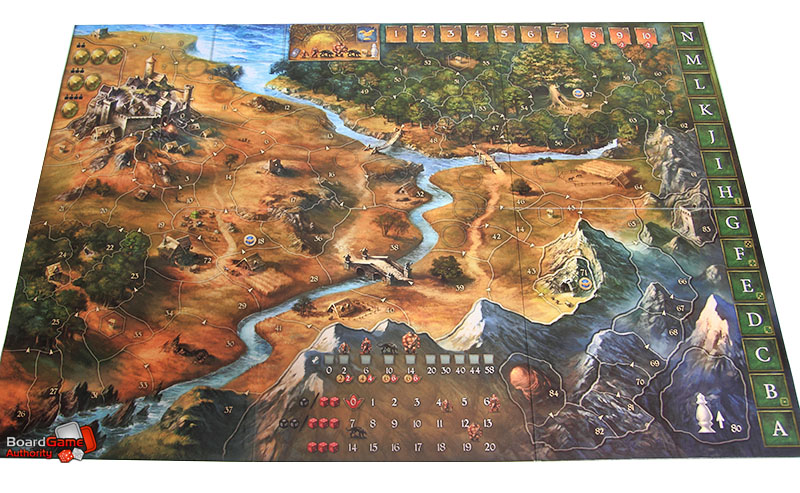 legends of andor game board