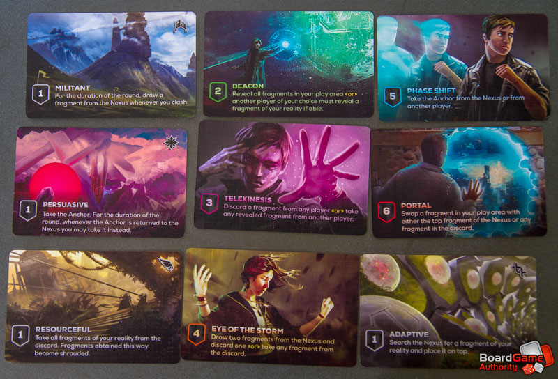 entropy card game actions