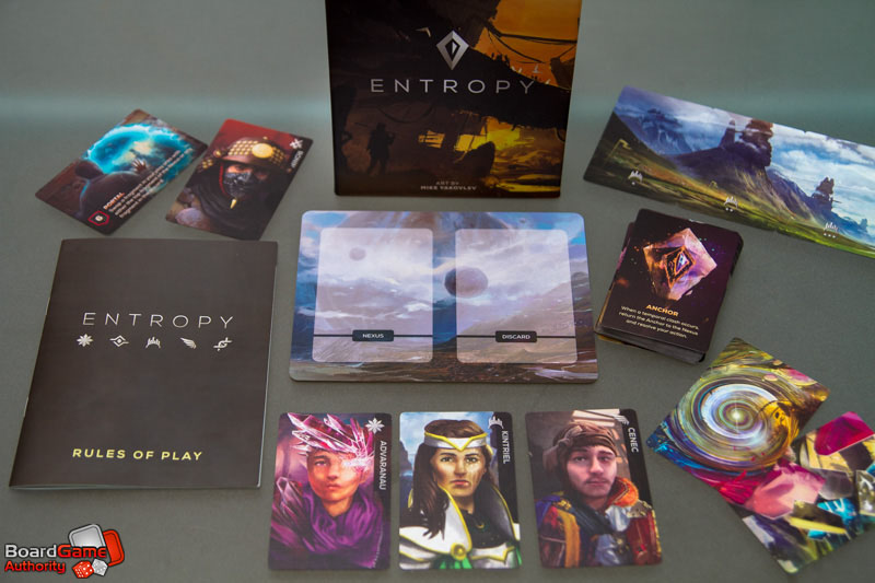 entropy card game components