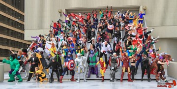 marvel cosplay group 2013