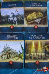 war of kings achievement cards