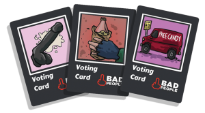 3 Voting Cards Image