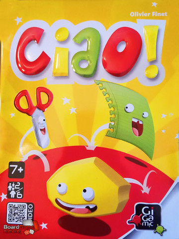 ciao card game box
