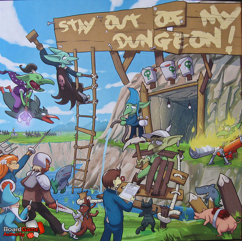 stay out of my dungeon game box