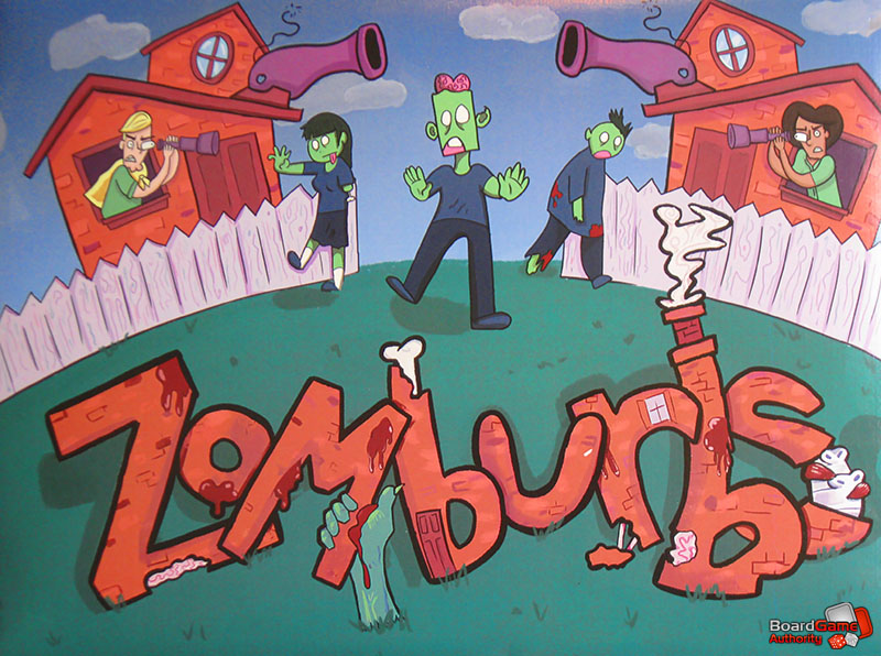 zomburbs game box cover