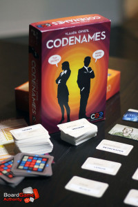 codenames deduction game
