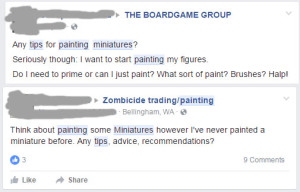 miniature painting tips facebook
