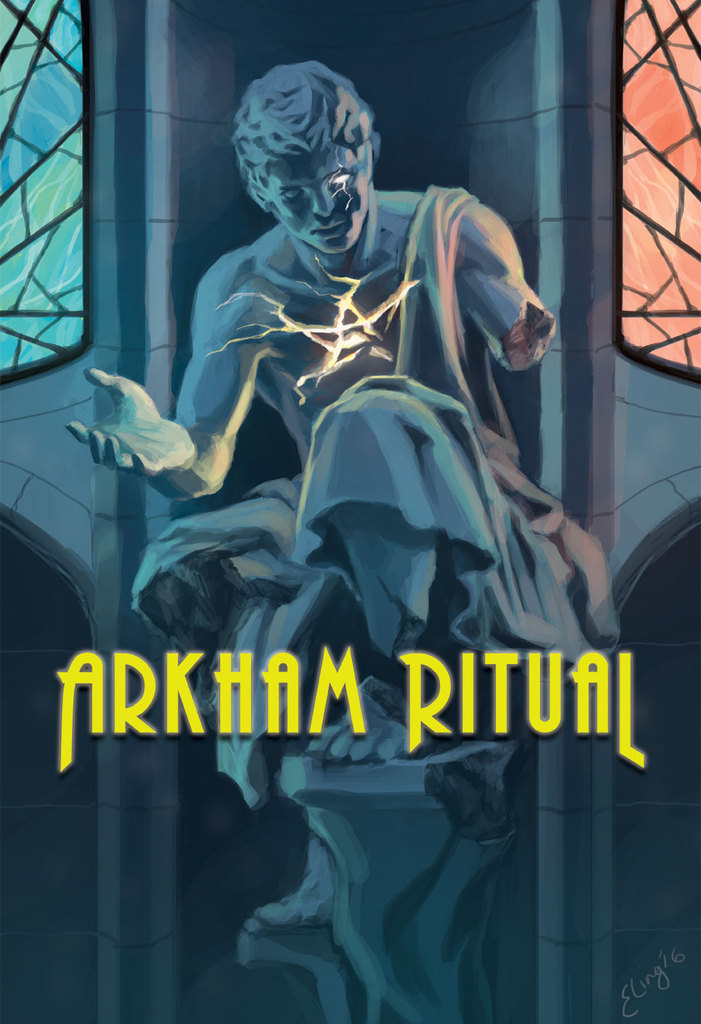 arkham ritual board game