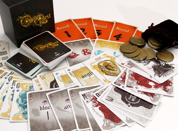 Omen Quest Card Game