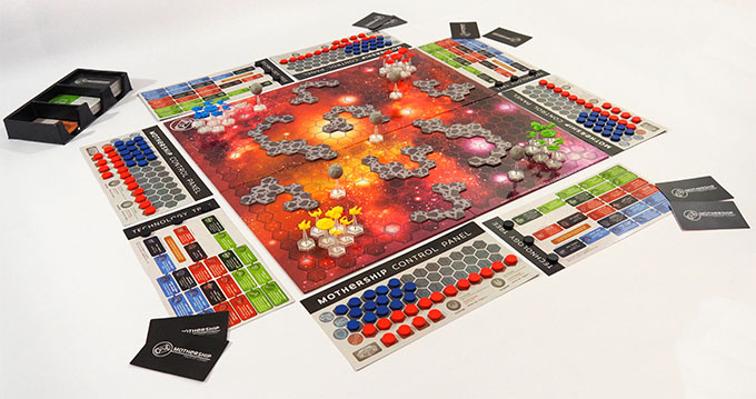 mothership kickstarter game
